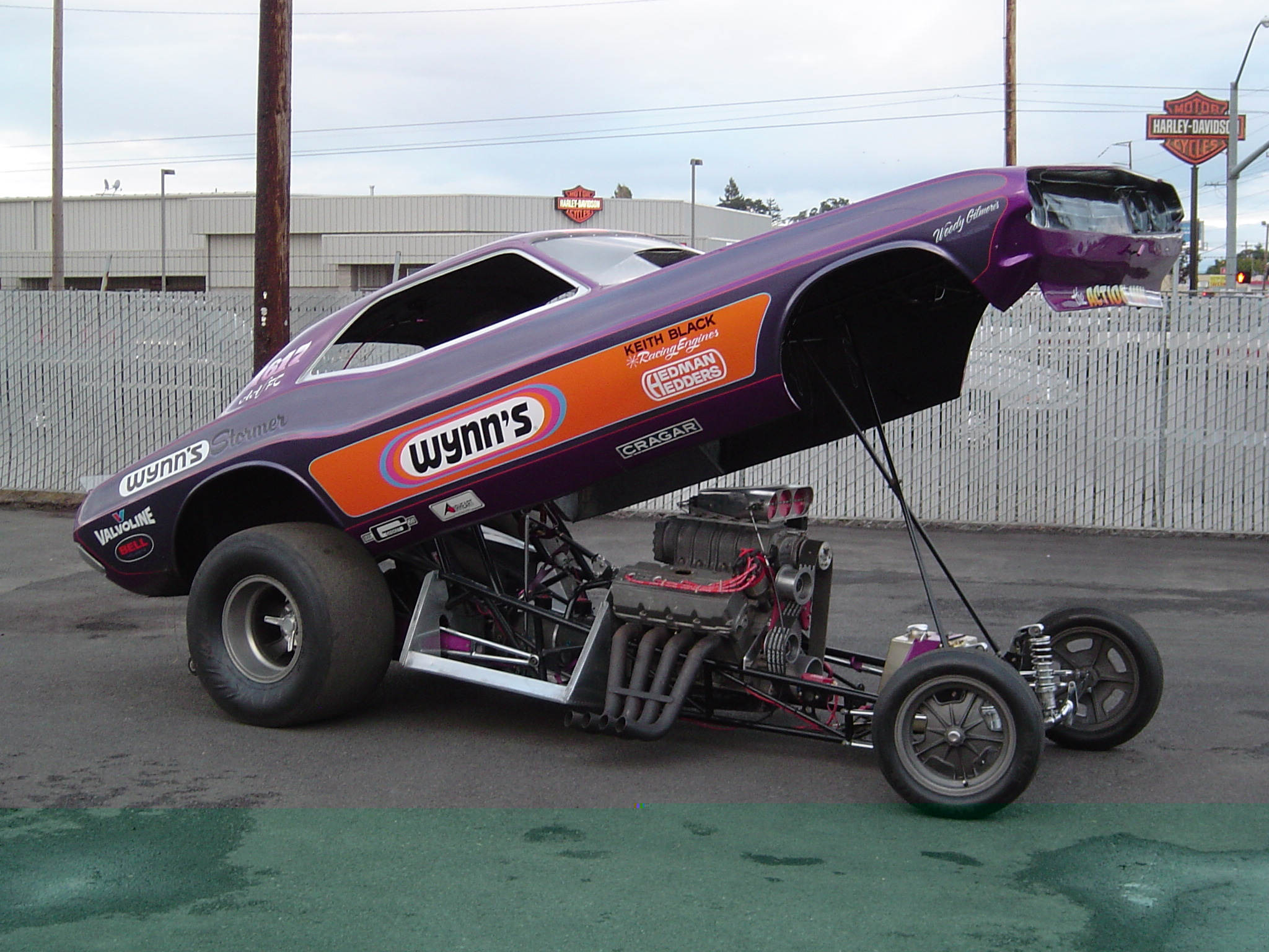 SOLD!!)1970 Top Fuel WYNN'S Stormer Challenger Funnycar (SOLD!!)